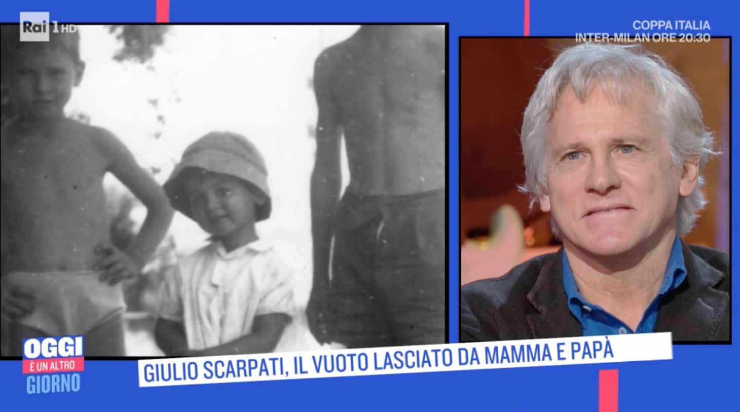 Giulio Scarpati, il vuoto lasciato dalla morte della madre e dalla malattia (Foto)