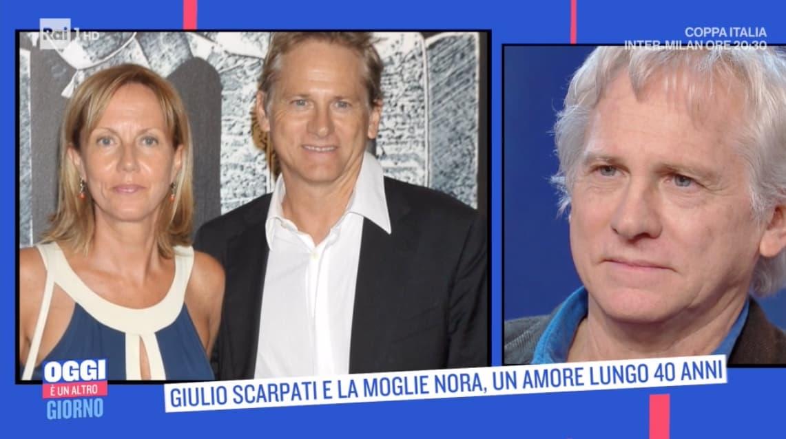 """Nora Venturini e Giulio Scarpati insieme da 40 anni: """"La monogamia è la peggiore delle perversioni"""" (Foto)"""