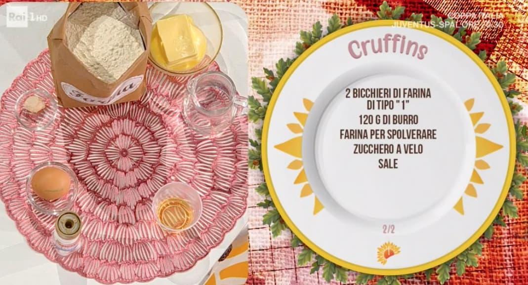 Cruffins di Sara Brancaccio, ricette dolci E' sempre mezzogiorno