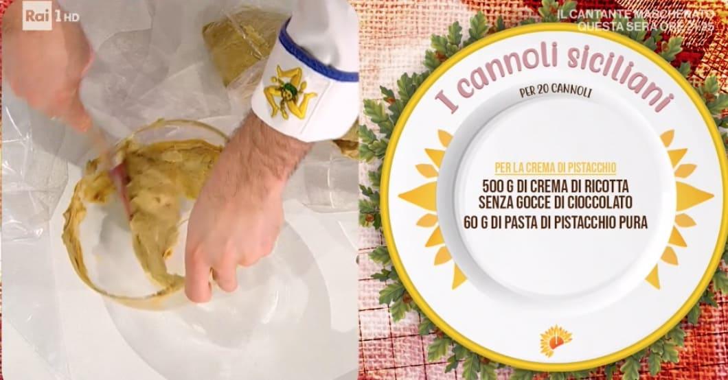 E' sempre mezzogiorno: cannoli siciliani, la ricetta di Fabio Potenzano