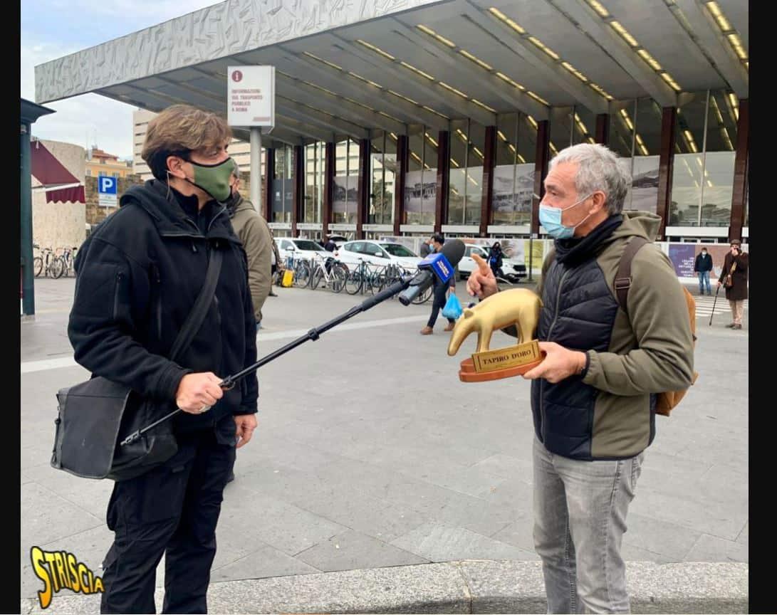 Tapiro d'oro a Massimo Giletti per le foto con la De Girolamo: retroscena inatteso