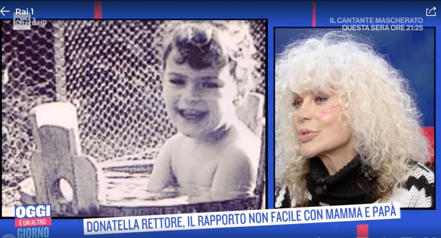 Donatella Rettore: la madre la imbottiva di valeriana, mai un abbraccio (Foto)