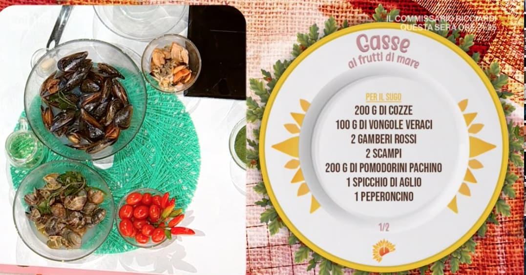 Gasse ai frutti di mare, le ricette di Ivano Ricchebono