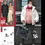 Laetitia Casta col pancione, a 42 anni arriva il quarto figlio (Foto)