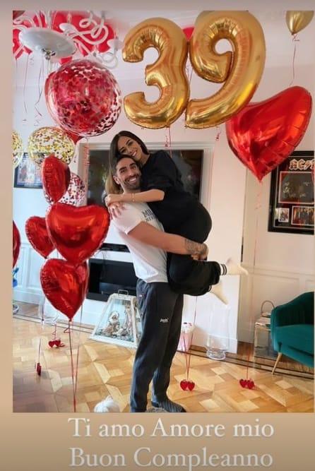 Filippo Magnini festeggia il primo compleanno con la figlia Mia (Foto)