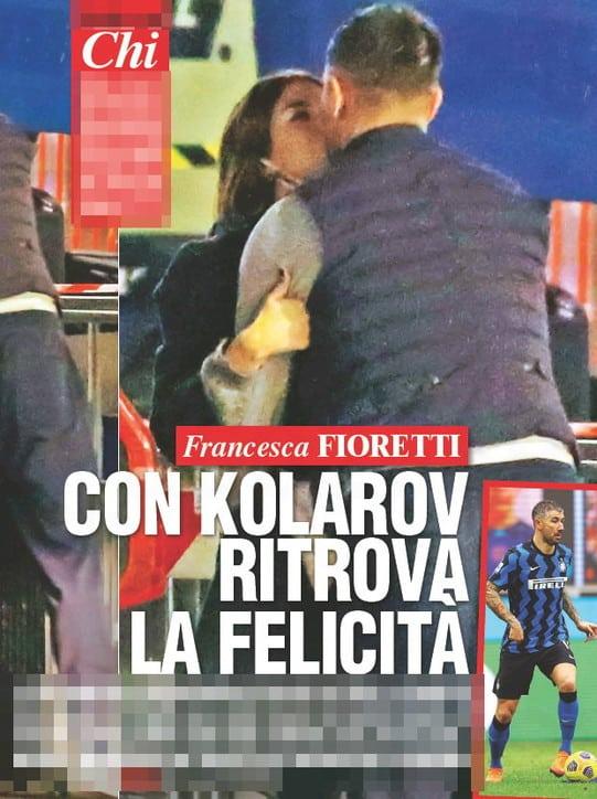 Francesca Fioretti e Kolarov: le foto su CHI