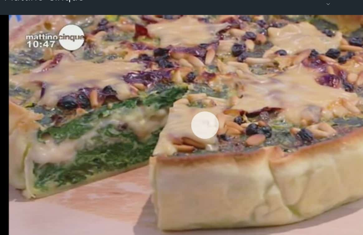 La ricetta della quiche con bietole e formaggio di Samya