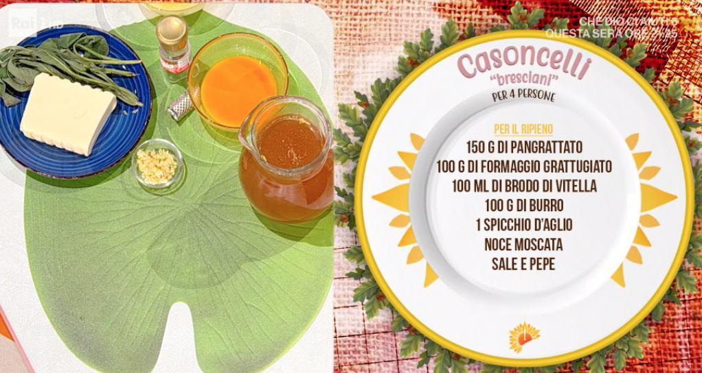 Casoncelli bresciani, la ricetta di Francesca Marsetti