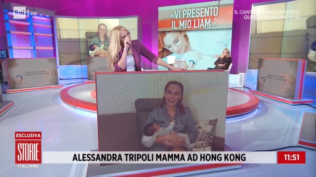 Alessandra Tripoli racconta il parto crudele, i problemi per la nascita del figlio (Foto)