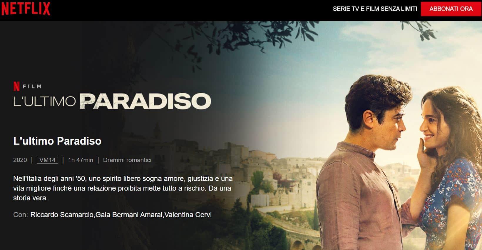 L'ultimo Paradiso è su Netflix: la trama, scopriamo perchè vedere il film con Scamarcio