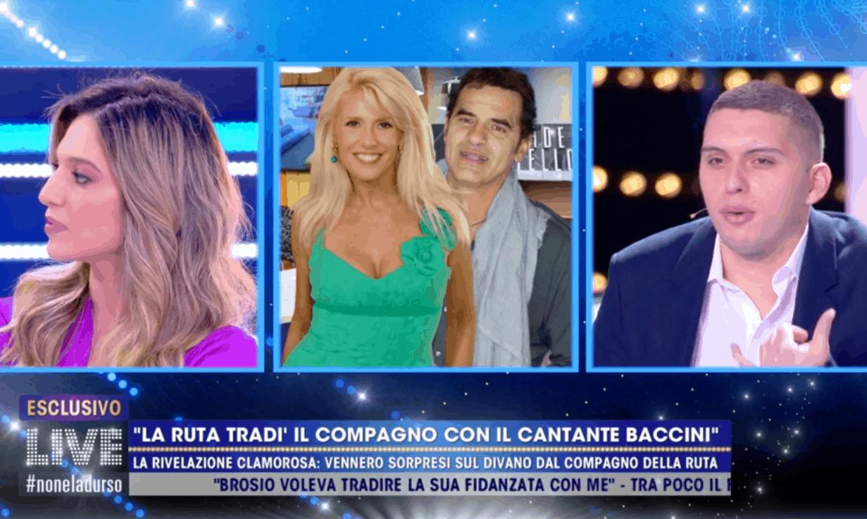 Live, Maria Teresa Ruta e il tradimento con Francesco Baccini: vennero sorpresi insieme