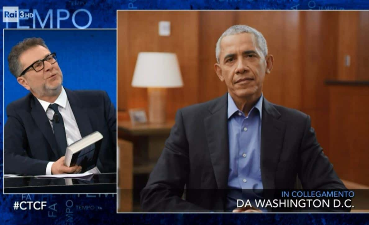Ascolti tv: Mina Settembre super, Fazio che numeri con Obama. Solito Flop per Live