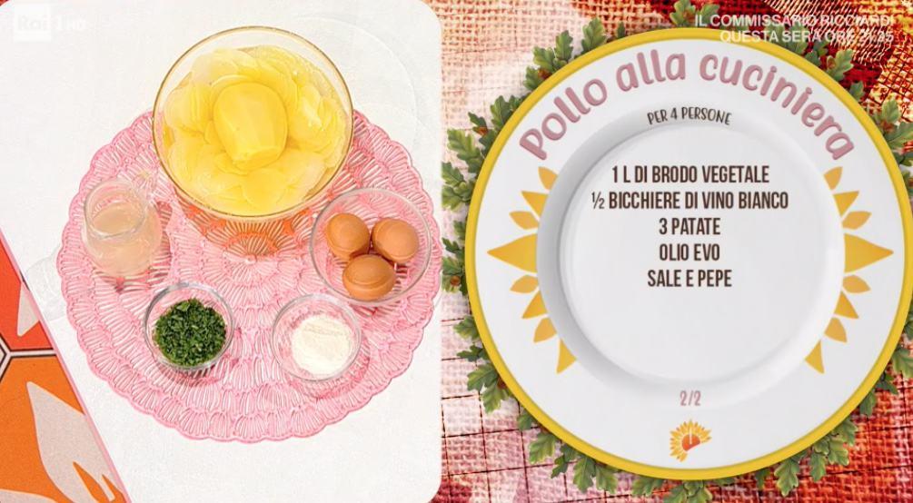Pollo alla cuciniera è la ricetta di Ivano Ricchebono