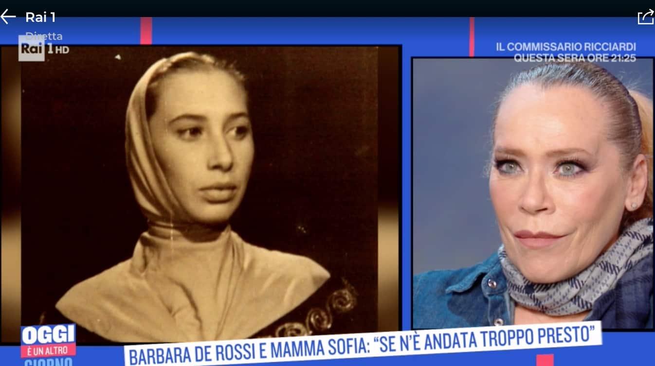 La mamma di Barbara De Rossi morta troppo presto dopo una lunga malattia (Foto)