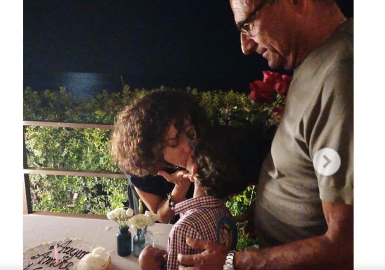 Carlo Conti e Francesca Vaccaro festeggiano il compleanno del piccolo Matteo (Foto)