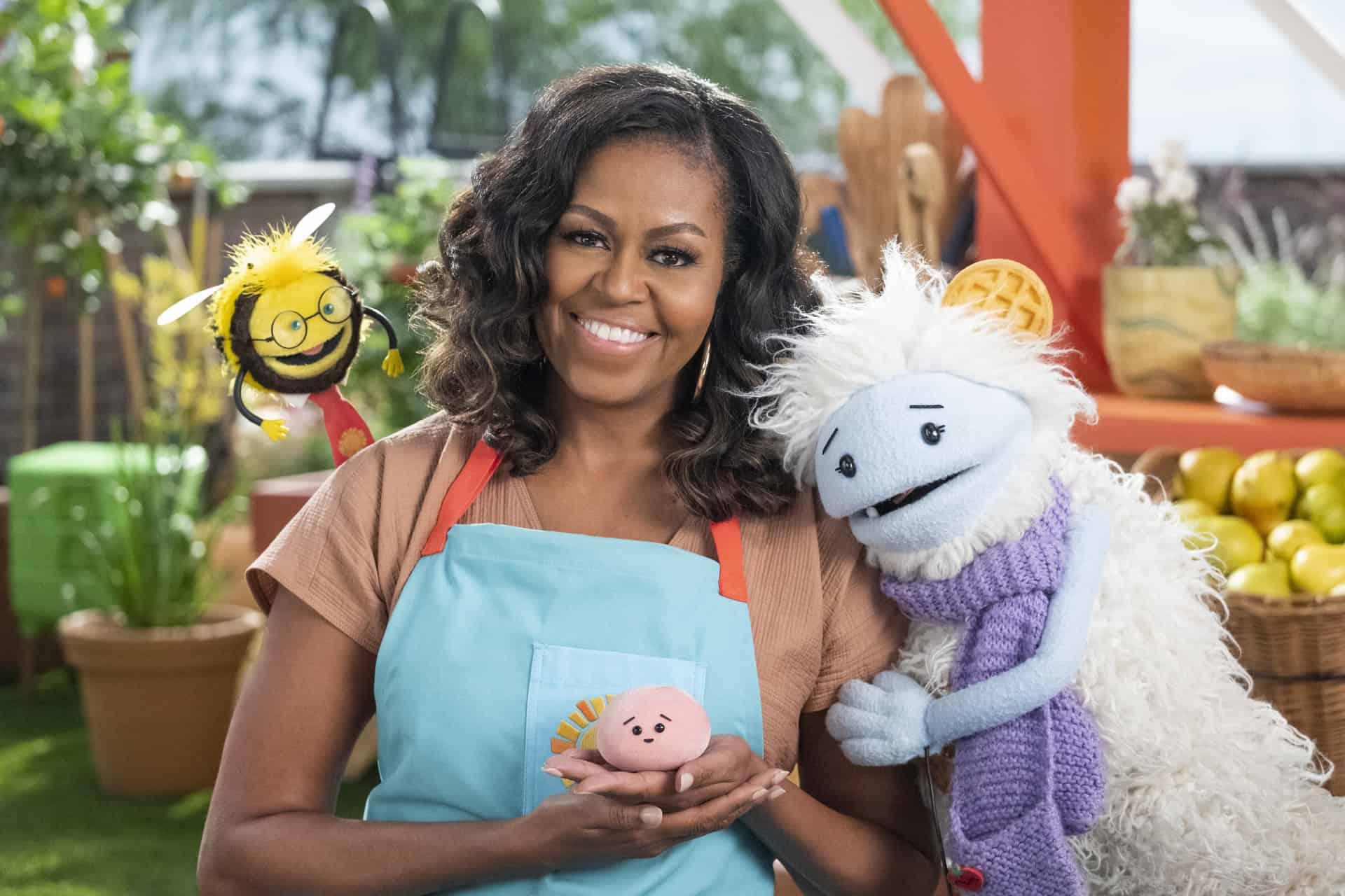 Waffles + Mochi arriva su Netflix con la partecipazione di Michelle Obama