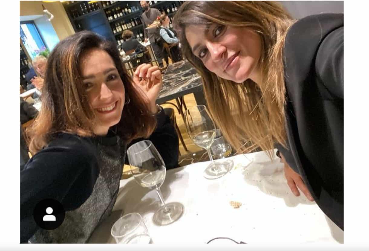 Caterina Balivo ed Elisa Isoardi a pranzo insieme, la tv non le ha separate (Foto)