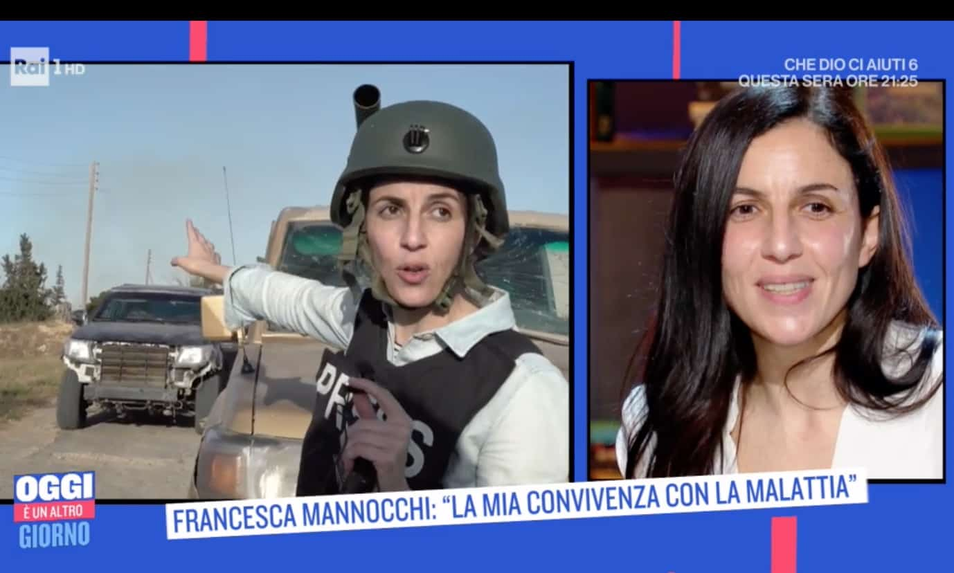 Francesca Mannocchi come ha scoperto la malattia, le sue parole emozionano Serena Bortone