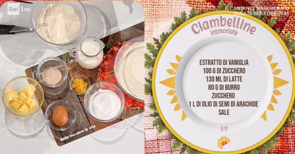 Ciambelline fritte intrecciate, la ricetta di San Valentino di Natalia Cattelani
