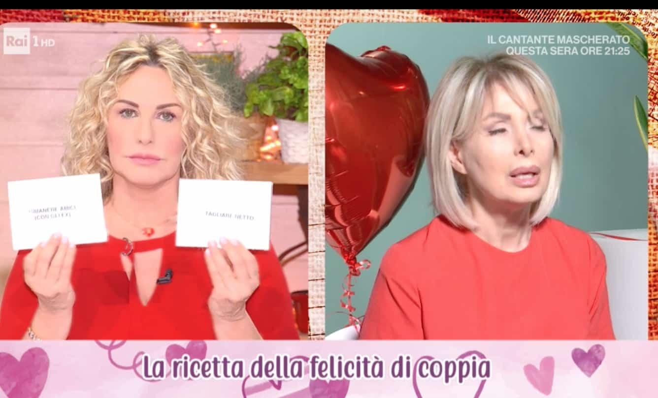 Marta Flavi e Antonella Clerici: è giusto controllare il proprio compagno?