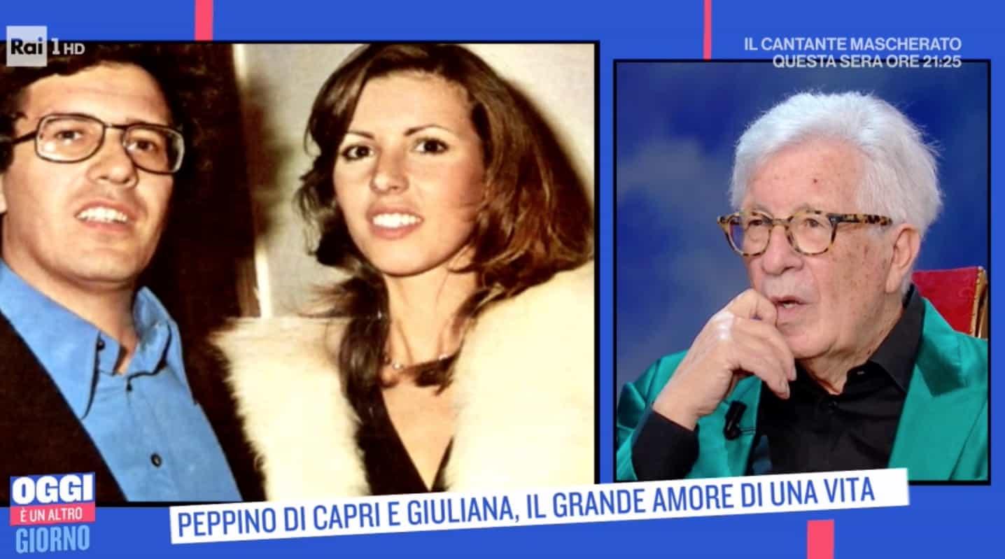 L'emozione di Peppino Di Capri per la moglie che non c'è più e i sei mesi chiuso in casa (Foto)