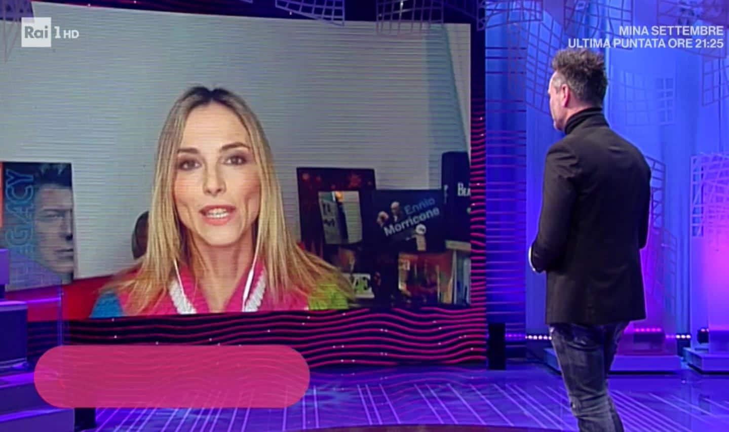 Francesca Fialdini positiva al covid 19: c'è Nek per aiutarla in diretta