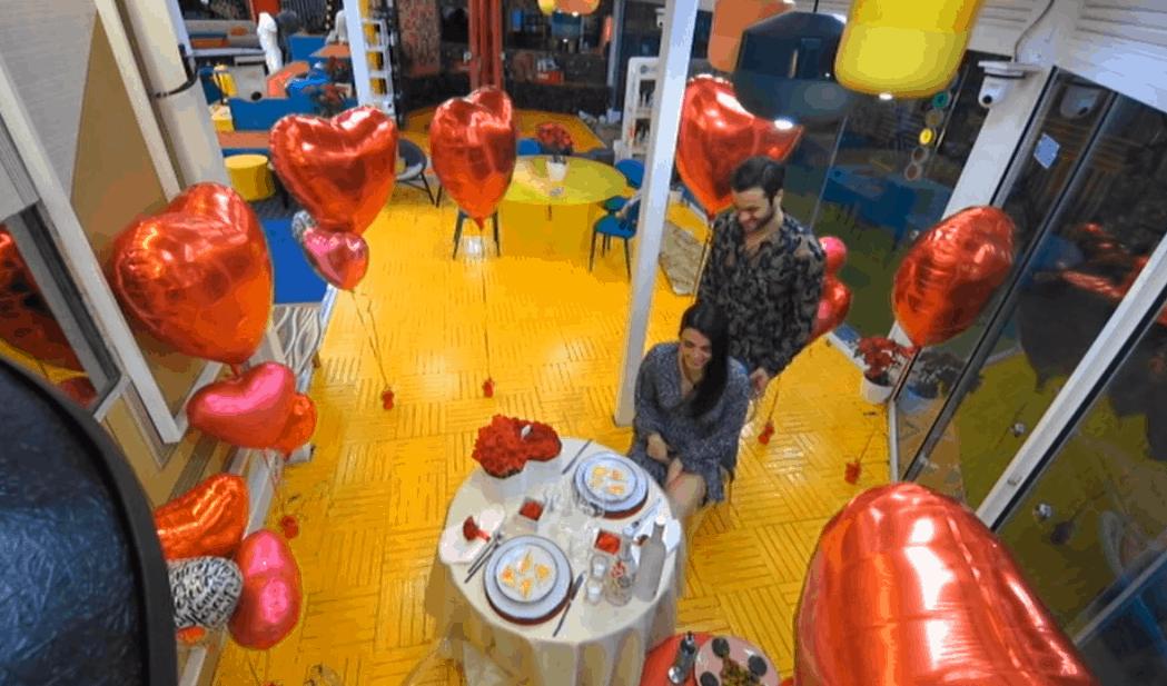 Pierpaolo Pretelli organizza la cena di San Valentino per Giulia Salemi: è amore al GF Vip 5
