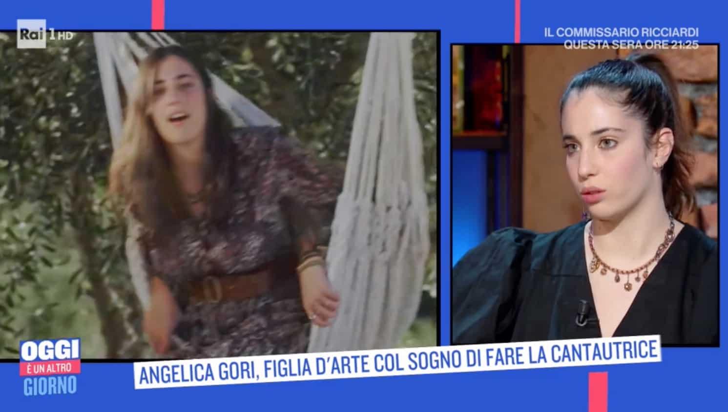 Angelica Gori, la figlia di Cristina Parodi a Oggi è un altro giorno con il suo primo brano (Foto)
