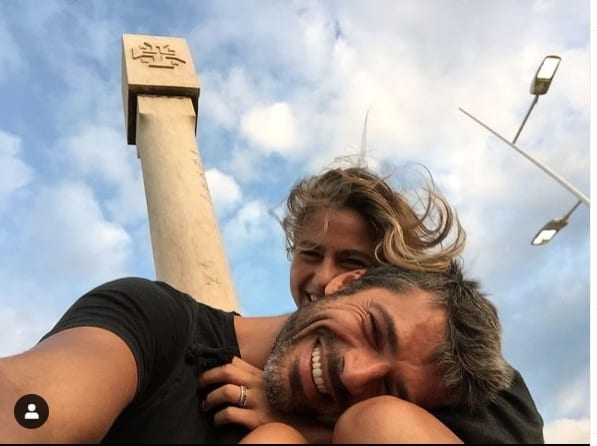 Luca Argentero e Cristina Marino mostrano il relais scelto per San Valentino (Foto)