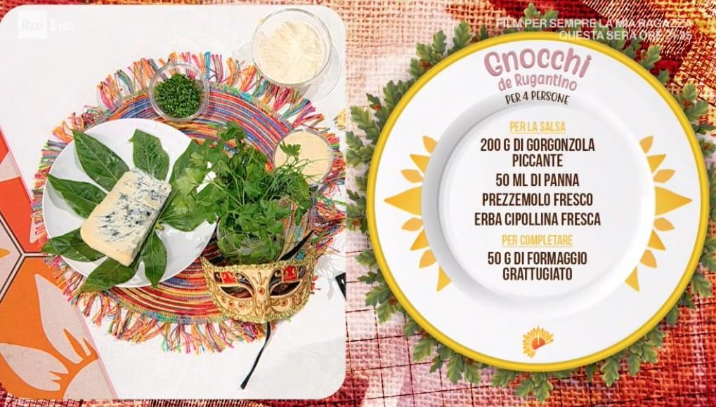 Gnocchi de Rugantino, la ricetta di Simone Buzzi