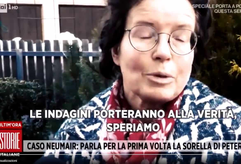 """La sorella di Peter Neumair a Storie Italiane: """"Benno potrebbe aver rimosso"""""""