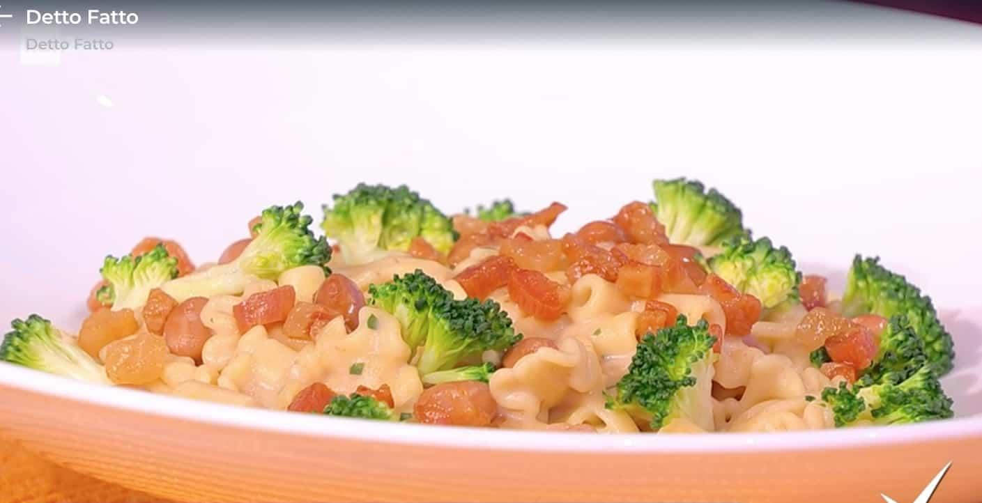 Pasta risottata con fagioli, broccoli e limone, la ricetta di Matteo Torretta