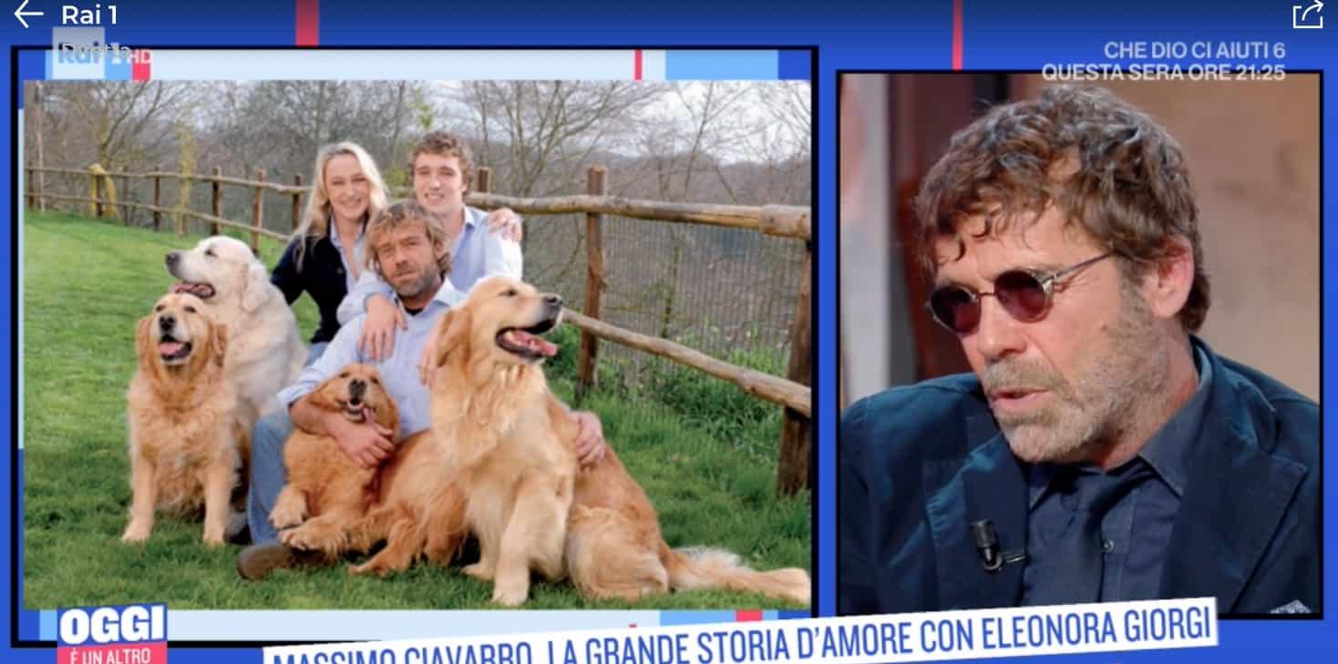 Il doloroso ricordo di Massimo Ciavarro sul padre, ci pensa ogni sera (Foto)