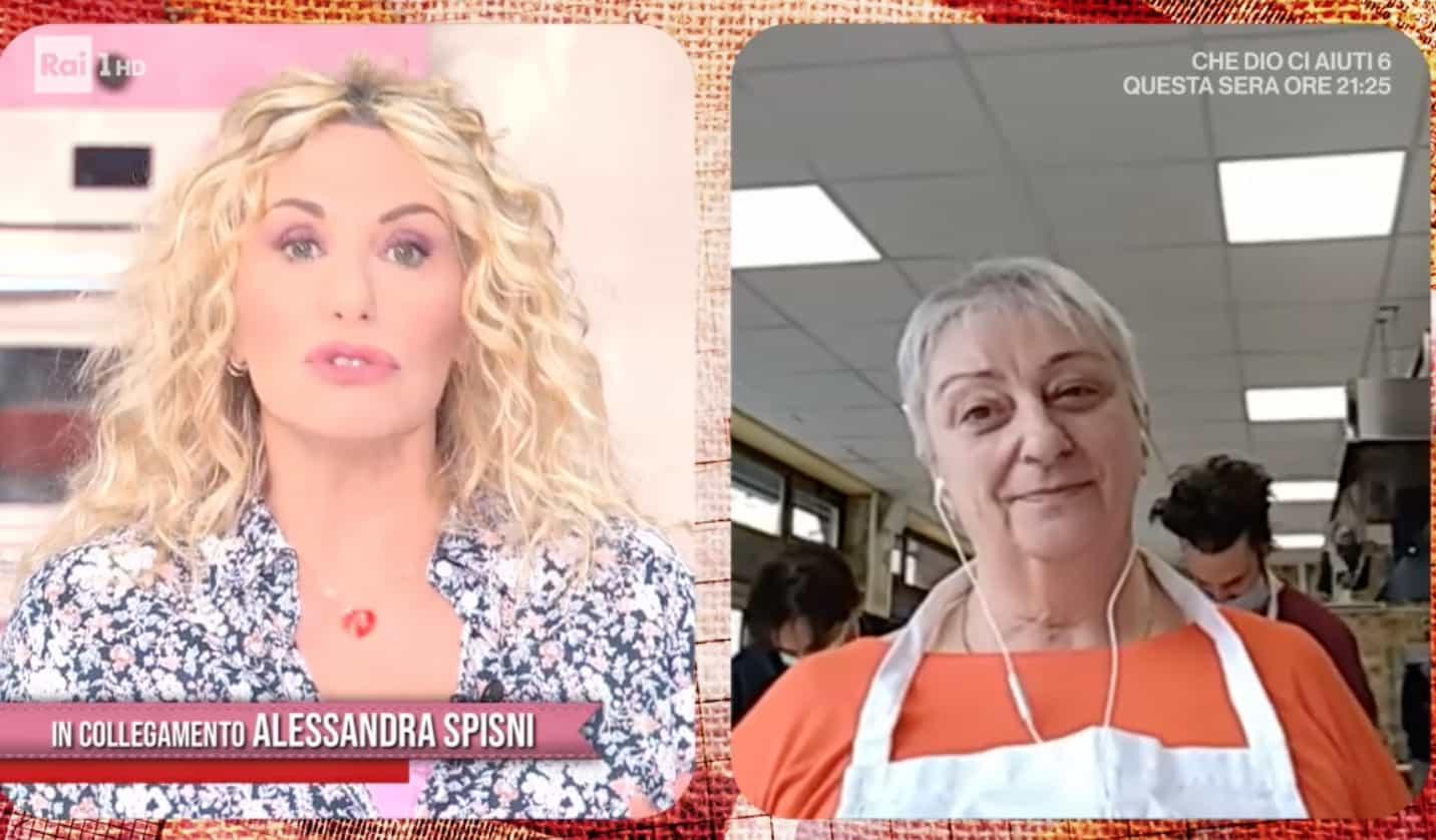"""Finalmente Alessandra Spisni nella cucina di Antonella Clerici: """"Sei sempre nel mio cuore"""" (Foto)"""