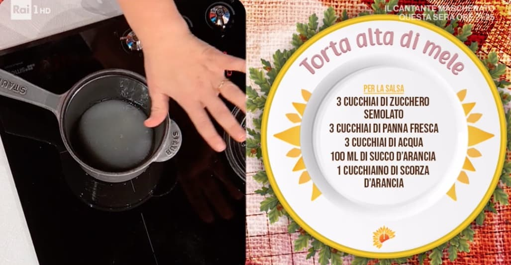 Torta alta di mele, la ricetta di oggi di Natalia Cattelani