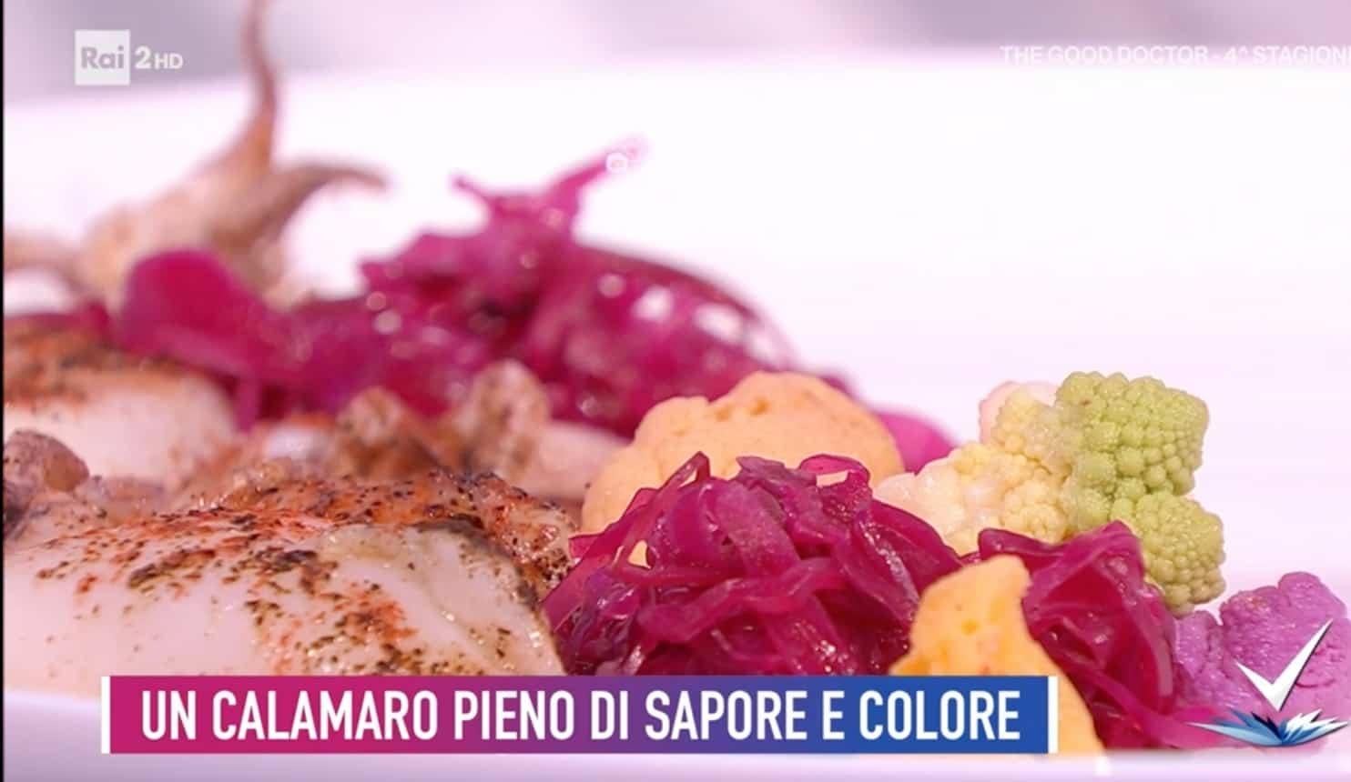 Calamaro ripieno nell'orto, la ricetta di Cinzia Fumagalli