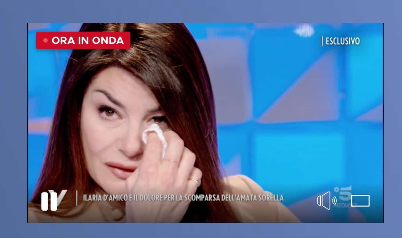 Ilaria D'Amico, la morte della sorella ha piegato sua madre Antonia (Foto)