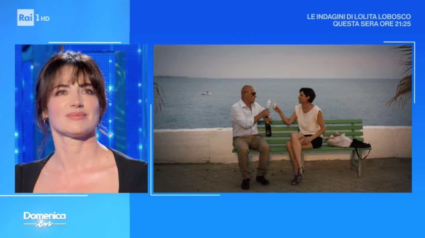 Luisa Ranieri si emoziona per l'amore di Luca e per Napoli (Foto)