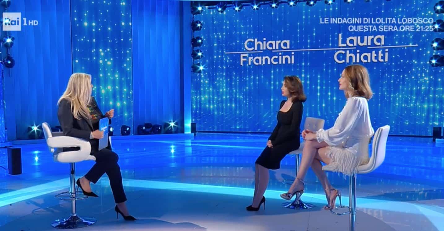 Chiara Francini e Laura Chiatti presentono Addio al nubilato a Domenica In (Foto)