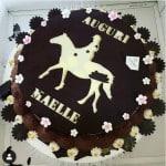 Antonella Clerici festeggia il compleanno di Maelle con due torte e una piccola festina Foto