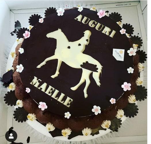 Antonella Clerici festeggia il compleanno di Maelle con due torte e una piccola festina (Foto)