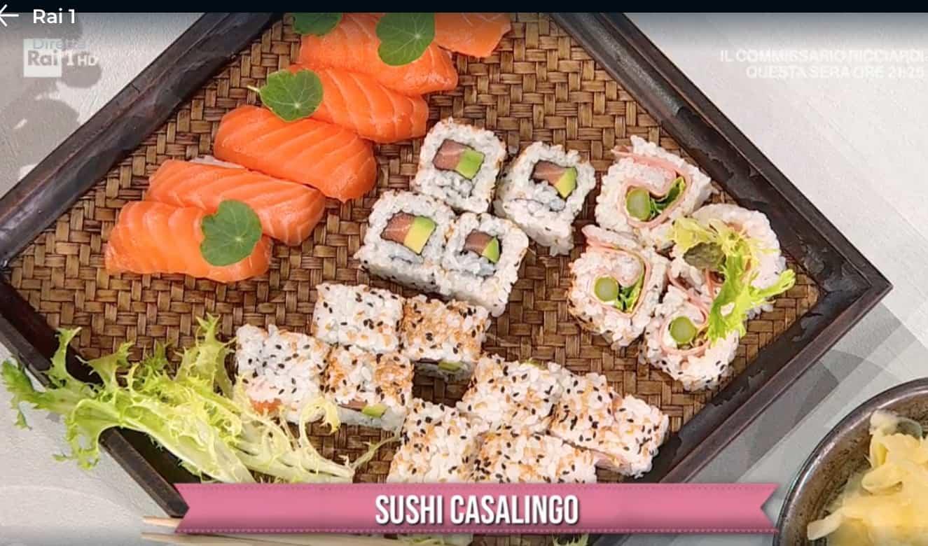 Sushi casalingo, la ricetta di Francesca Marsetti