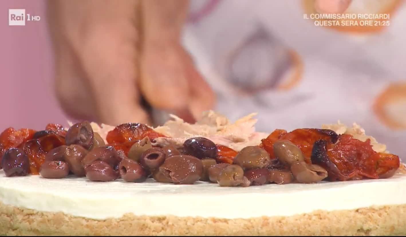 Ricette Marco Bianchi: cheesecake salata