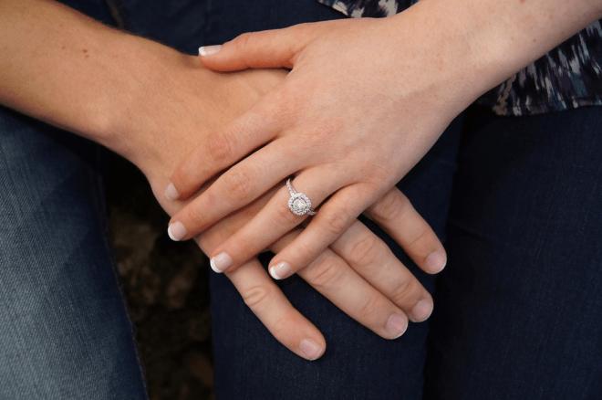 pulire anello fidanzamento
