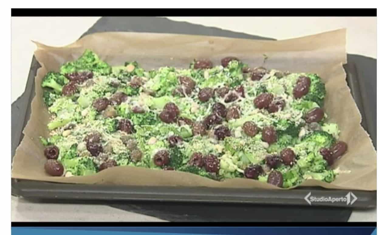 La ricetta dei broccoli saporiti al forno