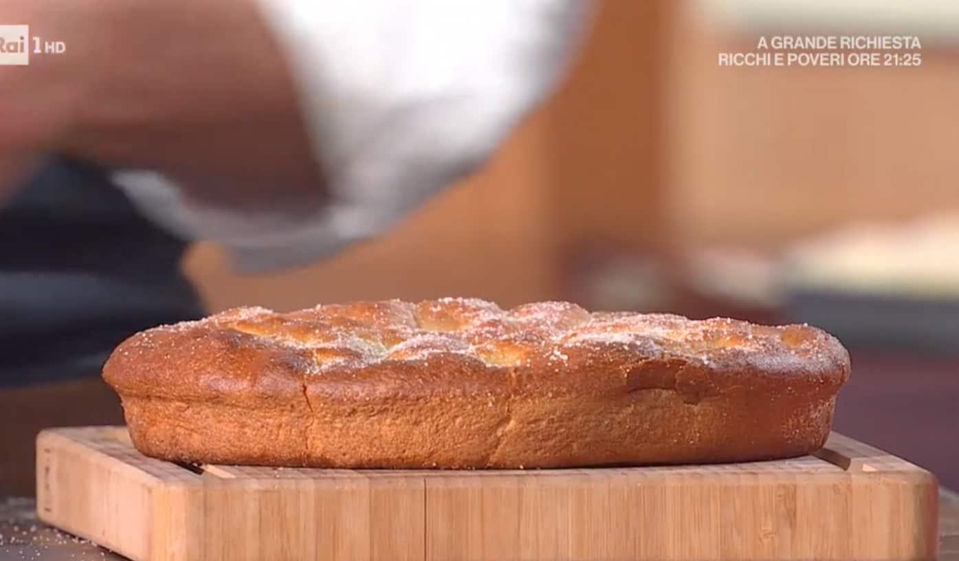 Focaccia dolce, la ricetta di Fulvio Marino