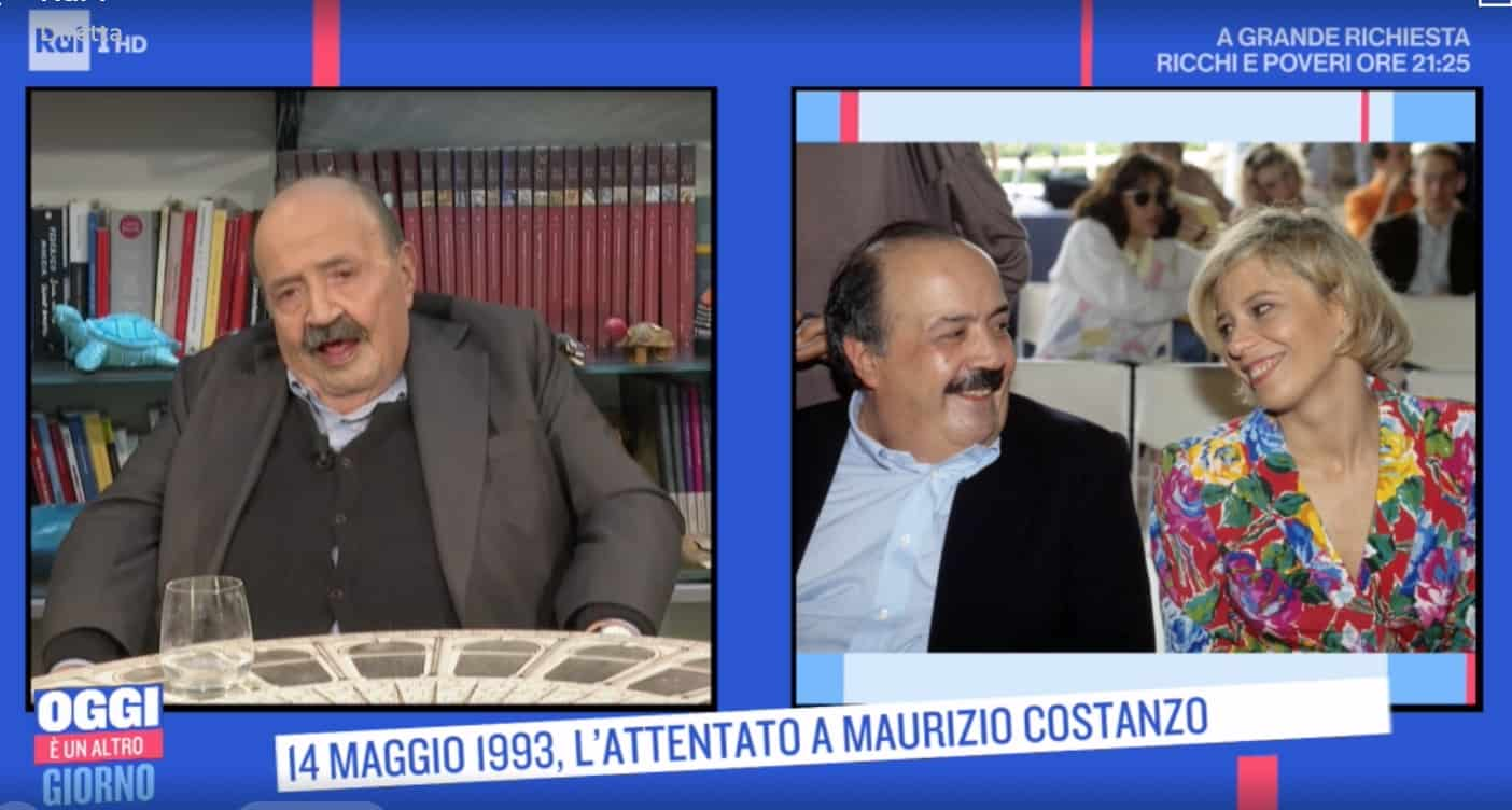Maurizio Costanzo dopo l'attentato la promessa al padre di Maria De Filippi