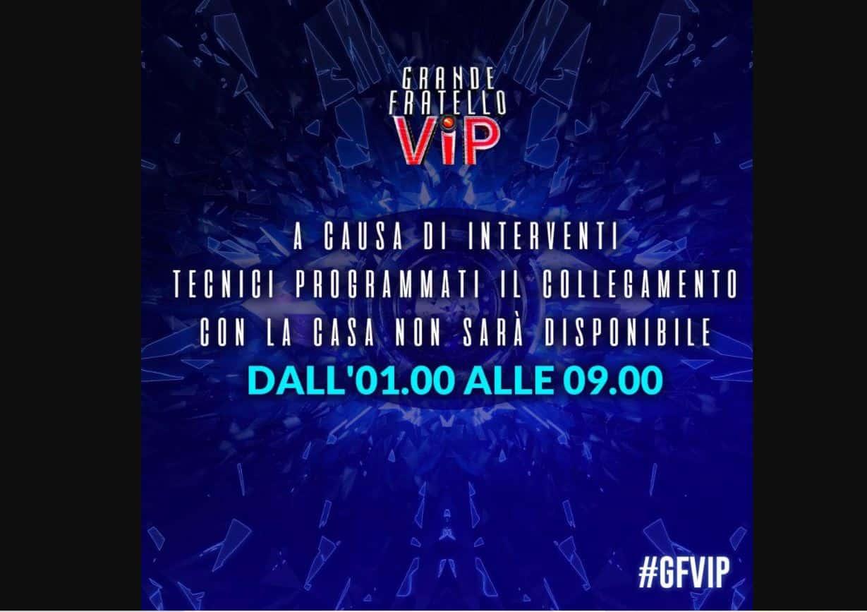 GF VIP 5 sospesa diretta: telespettatori in protesta sui social dopo la notizia