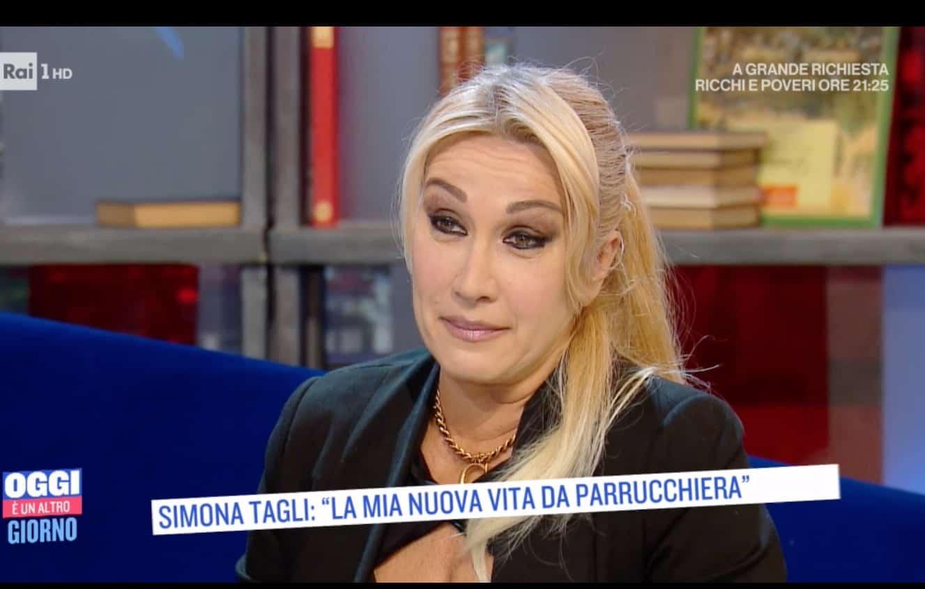 Simona Tagli confida il voto fatto alla Madonna