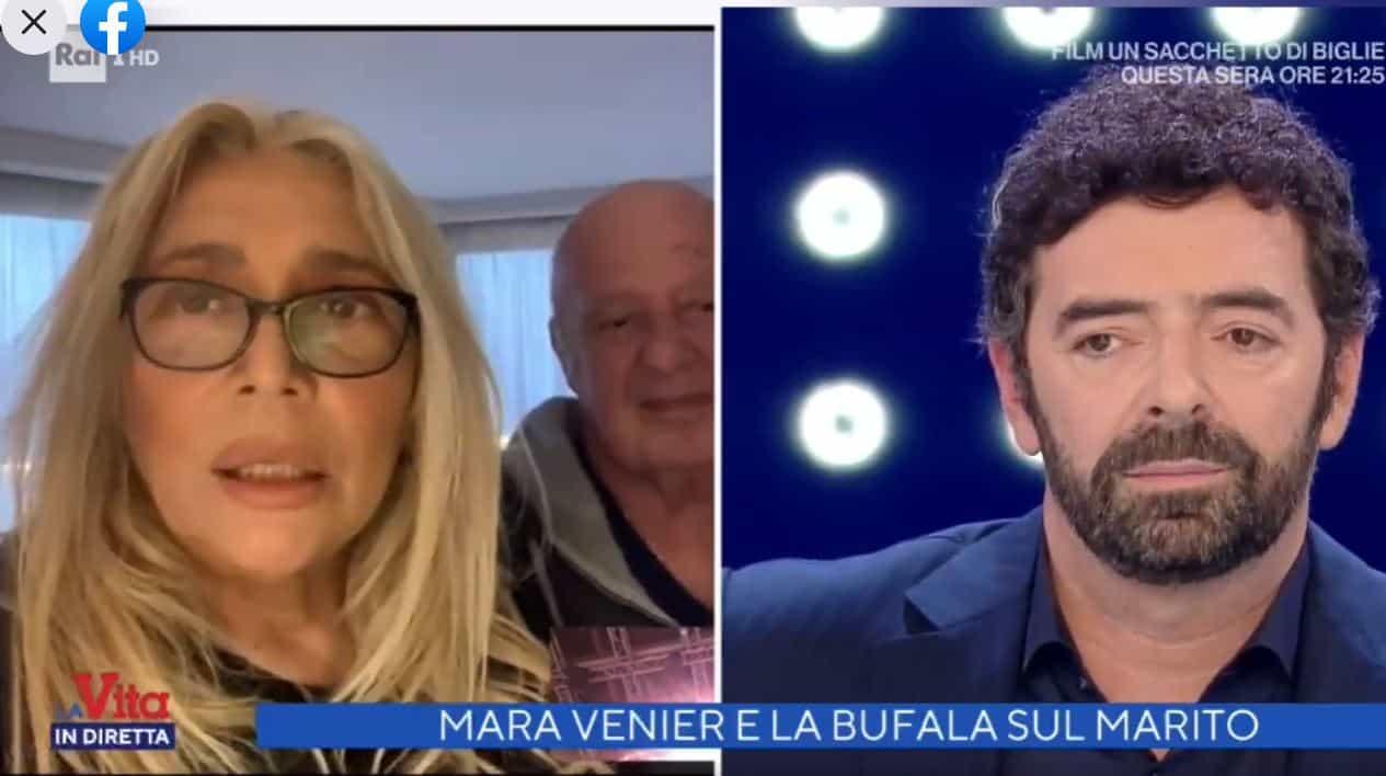 """Mara Venier e la fake news sulla morte di Nicola: """"Un suo amico si è sentito male"""""""